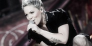 'Pink' performs live on the Main Stage